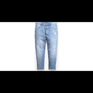 🌷 Uniqlo slim boyfriend fit denim jeans ankle 27